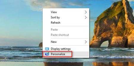 This PC در ویندوز 10, اضافه کردن آیکن This PC به صفحهی دسکتاپ
