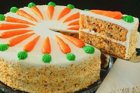 کیک هویج با گردو و دارچین,طرز تهیه کیک هویج با گردو و دارچین