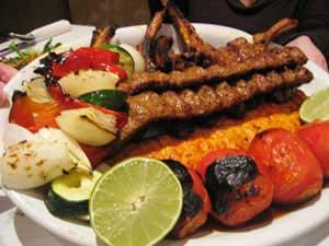 قیمت چلوکباب در تهران