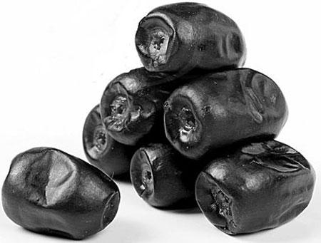 خواص خوراکی های مشکی,فواید خوراکی های سیاه