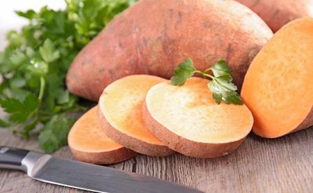 آشنایی با سیب زمینی شیرین و خواص آن