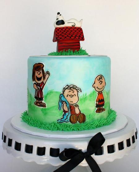 طرز نقاشی روی کیک,کشیدن نقاشی روی کیک,طراحی روی کیک تولد