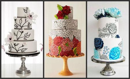 روش نقاشی روی کیک