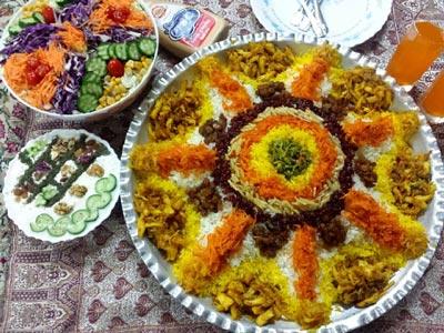 آموزش پخت مرصع پلو آوزش آشپزی