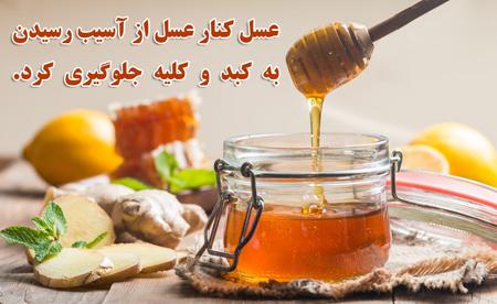 خواص عسل کنار,آشنایی با خواص عسل کنار