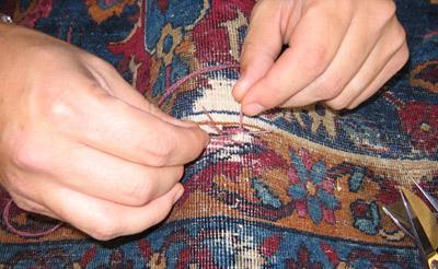 مرمت قالی دستباف,كار مرمت قالی,مرمت قالی