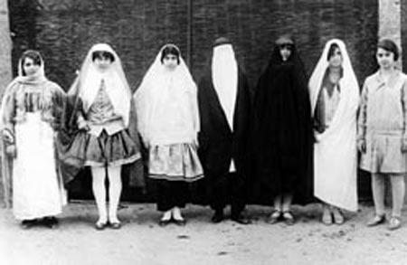 تاریخچه پوشاک زنان ایران,وضعیت پوشاک زنان, پوشاک در زمان پهلوی
