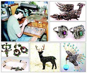 هنر زرگری و جواهرسازی, زرگری