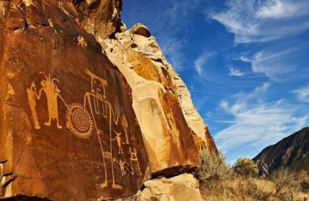 حکاکی روی سنگ, هنر صخره اي