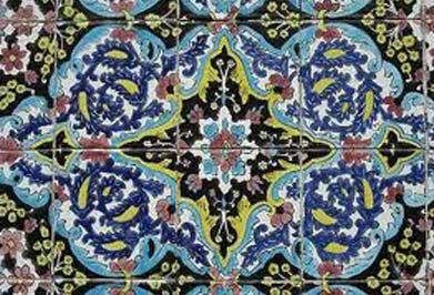 هنرهای دستی اصفهان, هنر کاشیکاری درایران