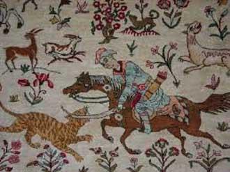 فرش ایران, طرحهای اسلیمی