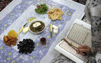 رسوم مردم مازندران, ماه رمضان, ماه مبارک رمضان