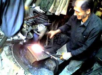چلنگری, هنرهای دستی, آهنگری