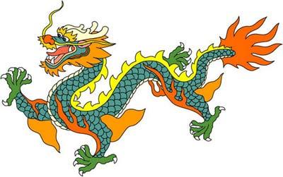 آداب و رسوم, نمادهای اژدها, کشور چین