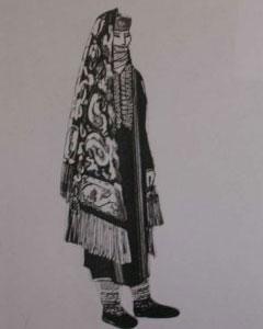 لباسهای زنان تركمن, دوختهای تزیینی, فرهنگ زندگی