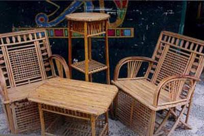 بامبو بافی, صنایع دستی استان گيلان