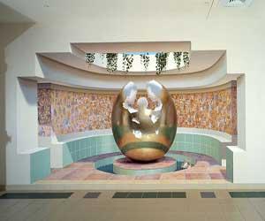 نقاشیهای دیواری سه بعدی حیرتانگیز در سال 95 و جدید