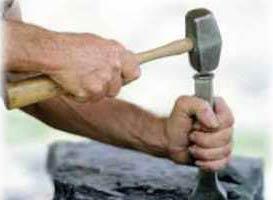 سنگ تراشی هنر دست های کهنه کار
