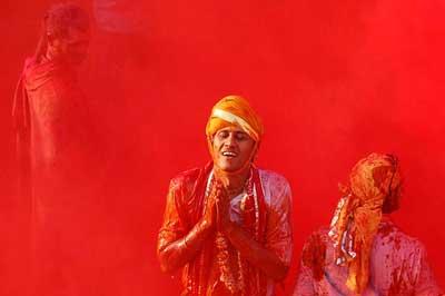 جشنواره رنگ هولی در هندوستان