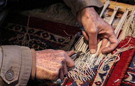 رفوی فرش, هنر قالی بافی