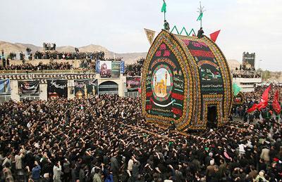 مراسم محرم, آداب و رسوم مردم ایران در محرم
