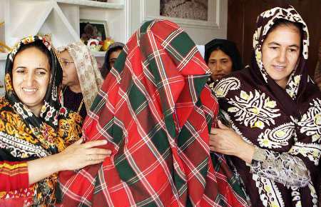 سنت های جالب خواستگاری و عروسی در بین قوم ترکمن
