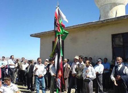 مراسم علمبندي, رسوم مردم گيلان (http://www.oojal.rzb.ir/post/1507)