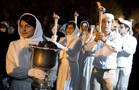 مراسم سده, رسوم جشن سده
