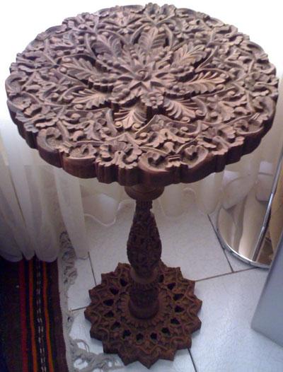 صنایع دستی ارومیه, ریزه کاری چوب