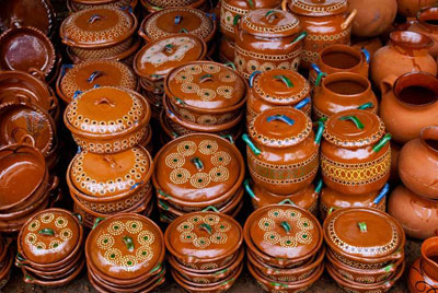 انواع صنایع دستی مکزیک, سفالگری
