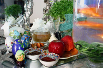 رسوم مردم سمنان در نوروز, رسوم کهن ایرانیان