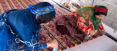 فرش فارس, فرش و گلیم