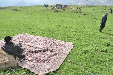 آداب و رسوم مردم ایران, مراسم ورف چال,