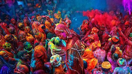 رسوم مردم هند,جشن هولی,تقویم دینی هندوها