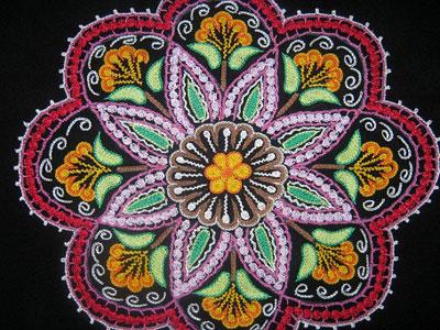 هنرهای دستی و سنتی, قلاب دوزی رشت