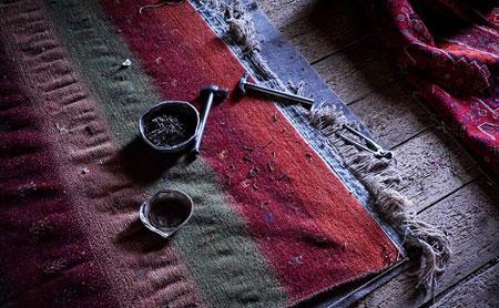 رفوی فرش, هنرمند