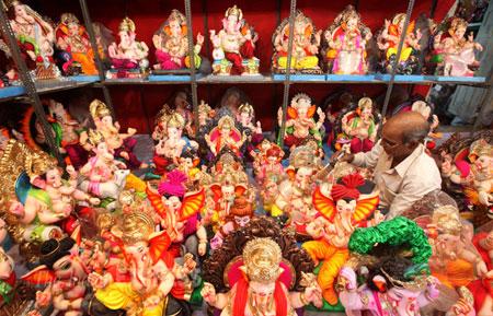 خدایان هند, جشن گانش