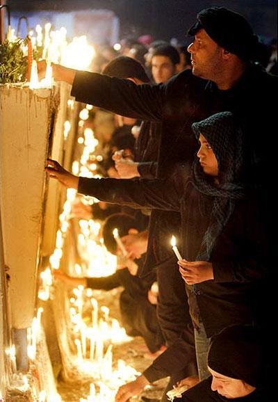 تعزیه خوانی, آداب و رسوم مردم ایران در محرم