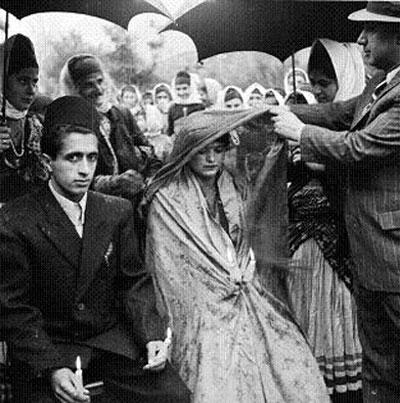 آداب و رسوم ازدواج در ایران, مراسم شتی بران