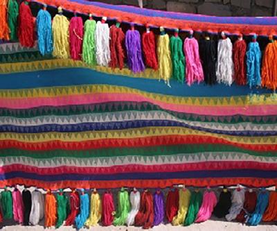 نوارهای رنگارنگ و نقش دار شیردنگ, صنایعدستی تزیینی