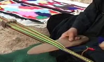 تزیین سیاهچادر, منگوله پشمی