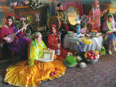 عید نوروز در ایران باستان, رسوم عید نوروز