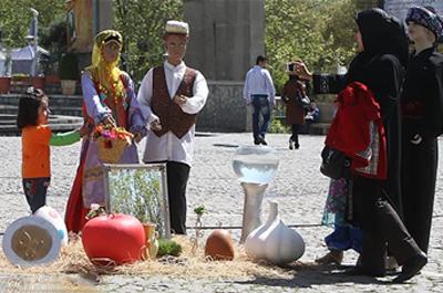 تحویل سال, ایران باستان