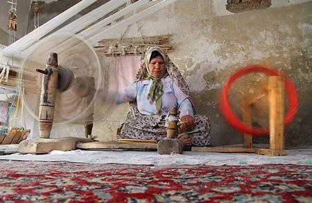 پارچه بافی سنتی, چرخ پارچه بافی