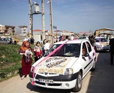 آداب و رسوم مردم ترکمن , مراسم ازدواج