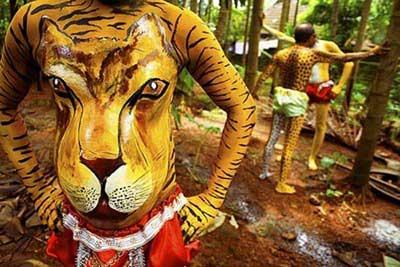 «جشن ببر»؛ جشنی عجیب در هند (+عکس)