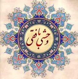 زندگینامه وحشــی بافقـــی, مولانا شمس الدین محمد وحشی بافقی