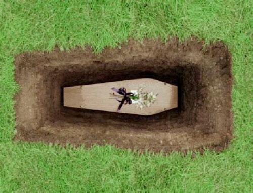 آئین های مراسم خاکسپاری,مراسم خاکسپاری, تابوت