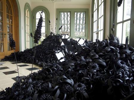 هنر,گلهاي کاغذي,ساخت مجسمه با کاغذ