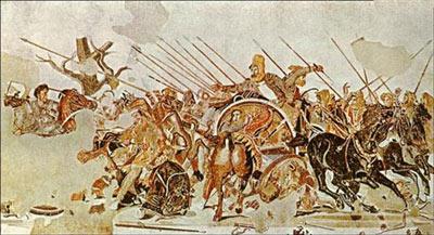 اسکندر مقدونی,حمله اسکندر مقدونی به ایران,نبرد اسکندر مقدونی و داریوش سوم